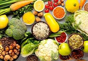 Fibre Fibre is derived from plant-based foods (vegetables, fruit, whole-grains, pulses, nuts and seeds) and is a vital component of a healthy balanced diet. The body cannot, however, absorb fibre, it…